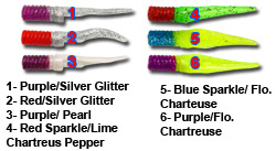 6 NEW colors for the Pick Pocket