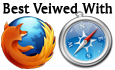 Firefox and Safari logos